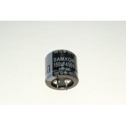 Condensateur 150uF - 450V Radial