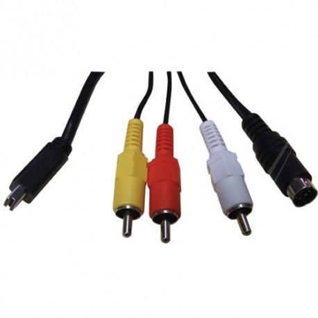 Multi-cable AV JVC