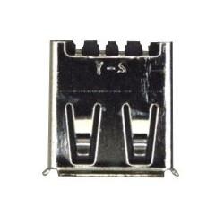JACK-USB:4P/1C W/L,AU/NI,BLK,ANGLE,A